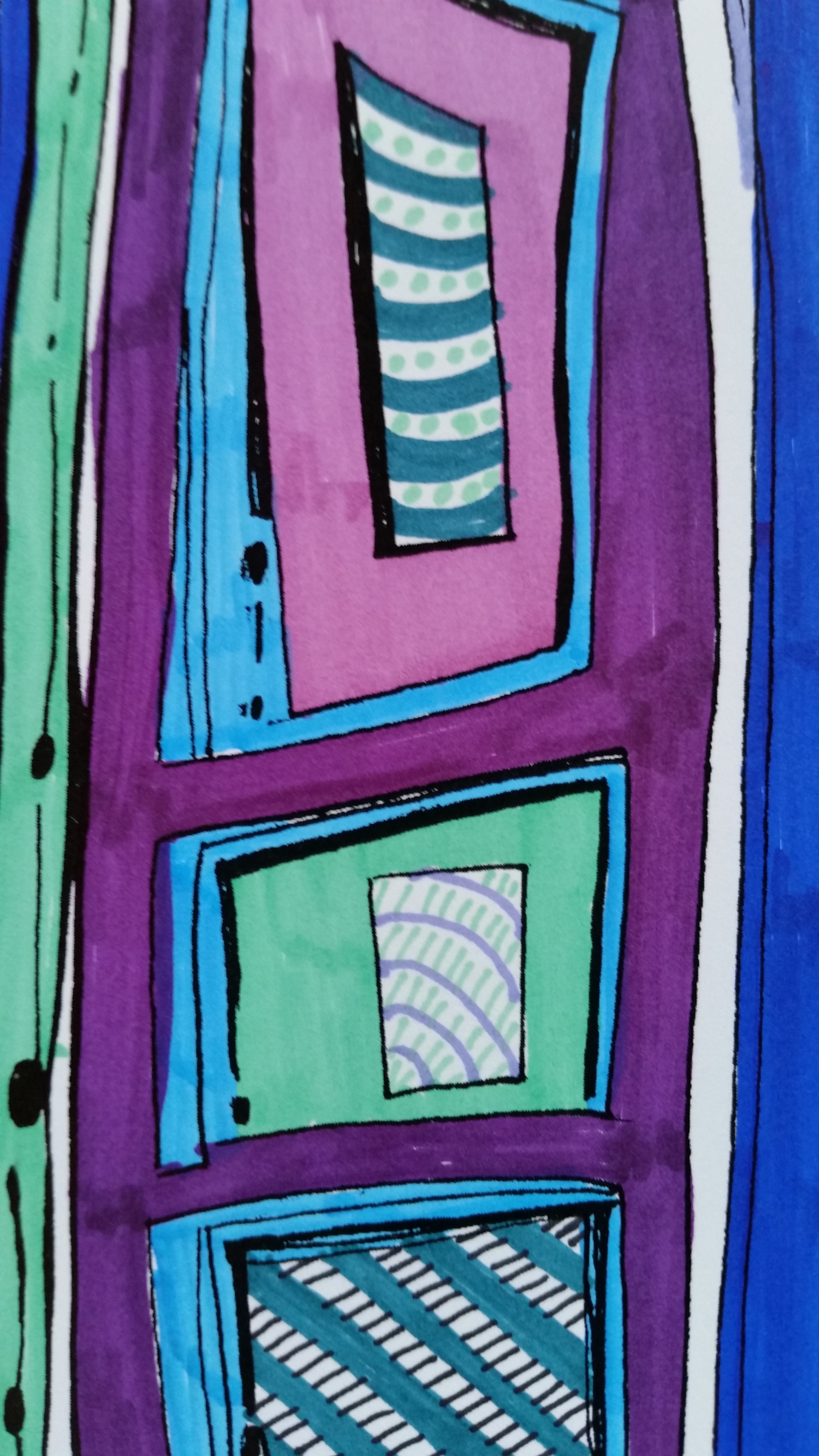 Doors, Coloring pages, Coloring book, Marfa, TX