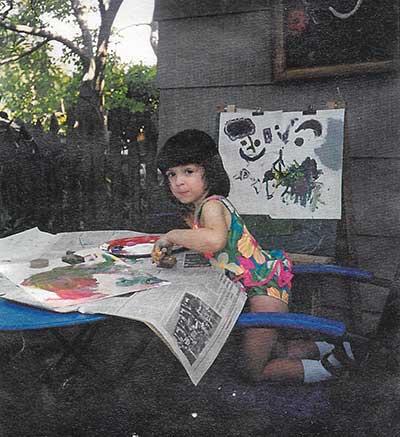 Veronica Paints